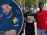 Drake plays basketball and happily poses with locals on vacation in ex Rihanna's native Barbados