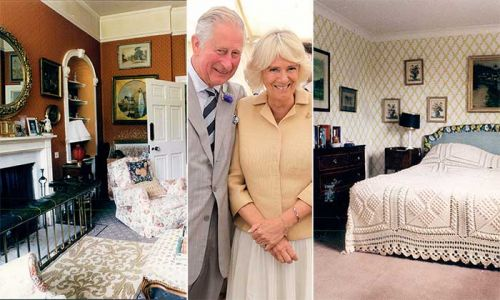 Duchess Camilla's jaw-dropping £3million estate before meeting Prince Charles unveiled