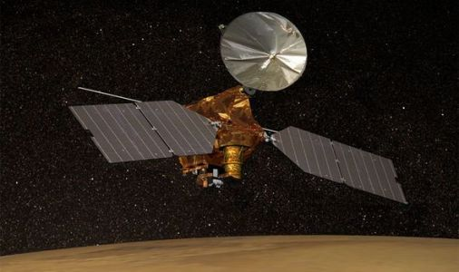 Water on Mars bombshell: NASA probe snaps 'possible' source of ice in 'thick masses'