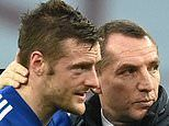 Leicester boss Brendan Rodgers backs star striker Jamie Vardy to rediscover his form against Arsenal