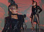 Grace Jones steals the show in a jaw-dropping bodysuit at the Icon Ball during London Fashion Week