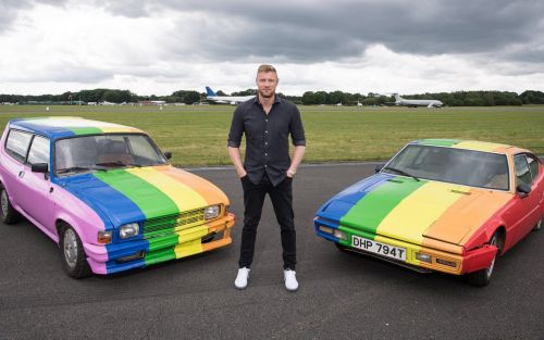 Top Gear sprays cars used in Brunei filming with LGBT Pride flag
