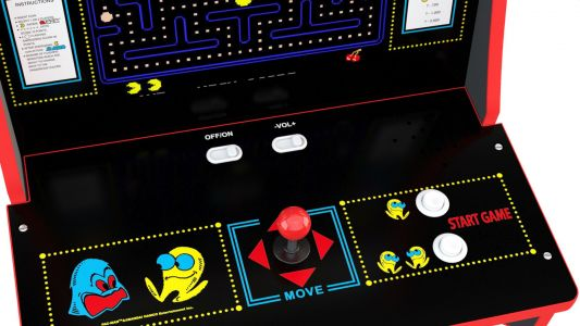 We're giving away a Pac-Man arcade cabinet worth $300 by Arcade1up!