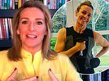 'It creeps up on you': Gabby Logan discusses fighting off weight gain in lockdown