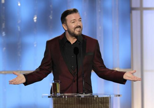 Ricky Gervais to host Golden Globes again next year - for 'the very last time'