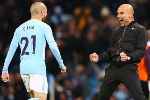 Pep Guardiola admits he was proven wrong by Man City skipper David Silva