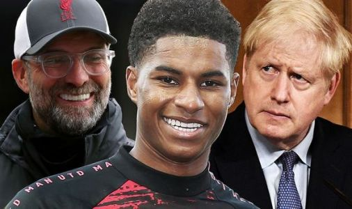 Liverpool boss Jurgen Klopp hails Man Utd star Marcus Rashford and slams Boris Johnson