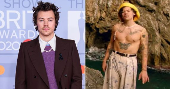 Designer whose clothes Harry Styles wears in Golden video is freaking out and we totally get it