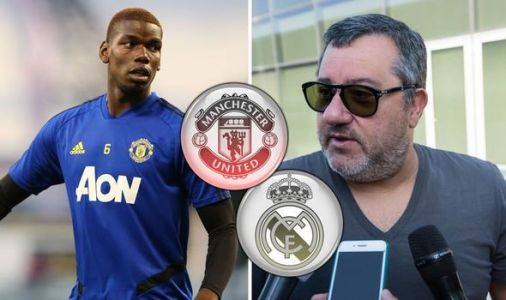 Paul Pogba transfer update issued by Mino Raiola as Real Madrid offered Man Utd boost