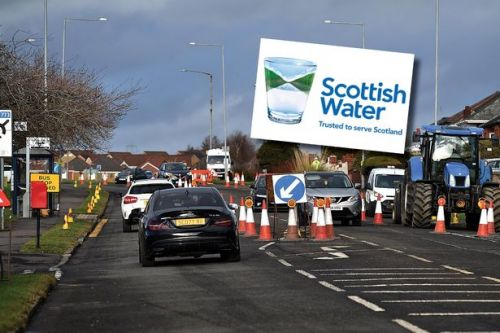 Kilmarnock set for £5m Scottish Water project with 40 miles of pipes upgraded
