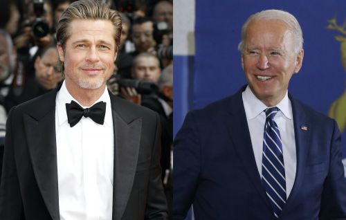 "Brad Pitt says Joe Biden will be a ""President for all Americans"" in new campaign ad"