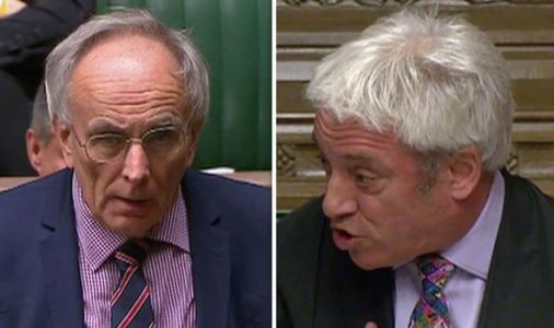 'Let the house decide - it would give the country a chance' Bone PULLS APART Bercow