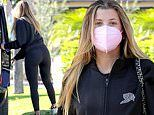 Sofia Richie, 22, plays up her curves in leggings as she steps out in LA