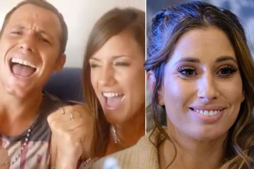 Stacey Solomon shares gushing tribute to Joe Swash as she supports him over Caroline Flack's death
