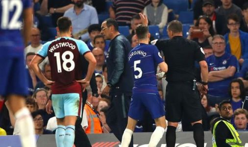 Maurizio Sarri SENT OFF as Chelsea vs Burnley ends in ugly scenes at Stamford Bridge