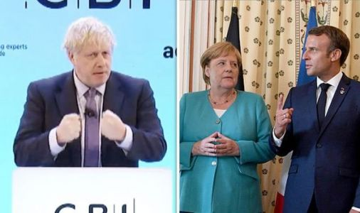 'Napoleon was right!' Boris Johnson delivers clever dig at France and Germany