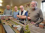Model railway display smashed up by gang of thugs ready to go on show again with help of Rod Stewart