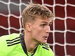 Alex Runarsson confident quiet nights in goal for Arsenal will become 'normal' following debut