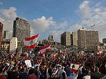 Church bells and mosque loudspeakers call out as shattered city of Beirut marks week since explosion