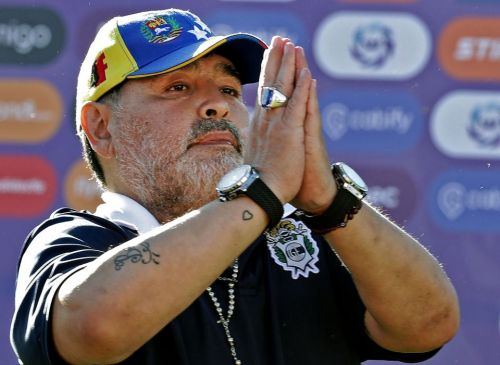 World Cup legend Maradona quits as Gimnasia manager after just two months in charge of Argentinian club