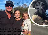 Luke Bryan assists mother on the highway after her tire blew out