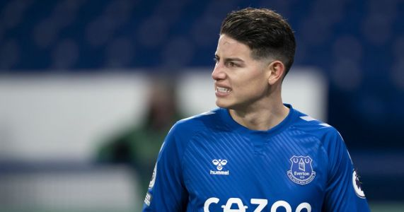 James Rodriguez rules out likely escape route but plunges Everton future into doubt