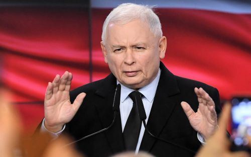 Poland's ruling party on course to retain majority in general election, exit polls show