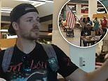 Crowd of anti-vaxxers swarm Staten Island food court in protest against NYC vaccine mandate