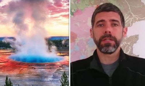 Yellowstone volcano: How geyser 'burst into life' as USGS records 111 earthquakes
