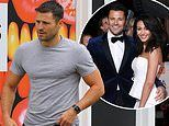 Mark Wright heads out to do the food shop after Michelle Keegan admitted she is feeling 'frustrated'