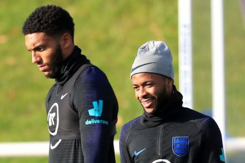 Raheem Sterling defended by Joe Gomez's dad over England stars' canteen bust-up