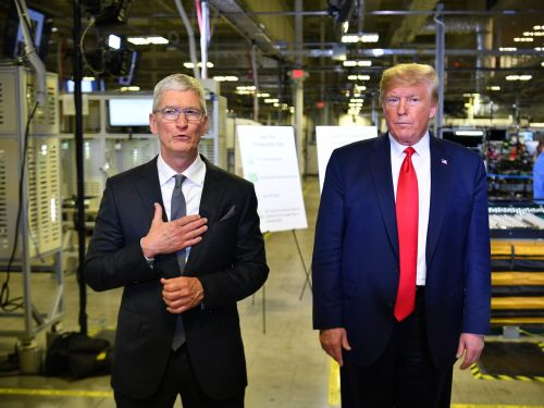 Trump's executive disclosures show a $6,000 gift of a Mac Pro from Apple CEO Tim Cook