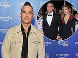 Robbie Williams jokingly admits his wife Ayda 'worried whether she'd married the right person'