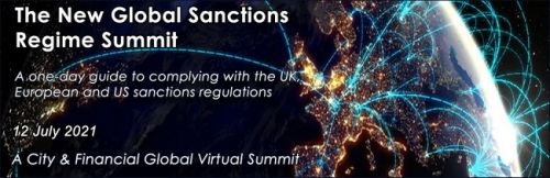 TFG partners with City & Financial Global for Virtual Summit on the New Global Sanctions Regime