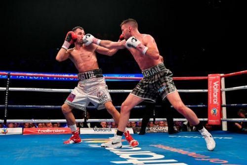 Josh Taylor beats Viktor Postol on points to earn world title shot as Scot continues rise