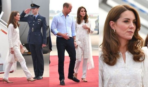 Kate Middleton and Prince William royal tour: Royal couple land in Lahore