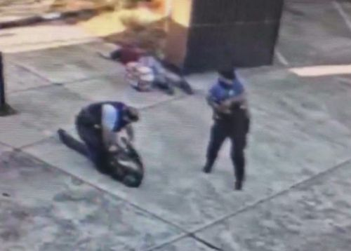 Two New Orleans cops AMBUSHED by gunman in pedicab with one blasted in the face in tourist-hotspot French Quarter