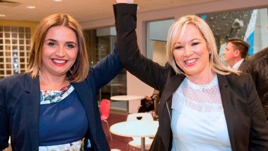 Sinn Fein leader Mary Lou McDonald told Elisha McCallion to quit post over Covid payment