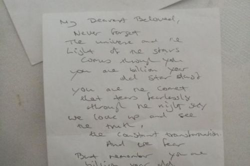 Scot looking for mystery author of love letter found at Edinburgh bus stop