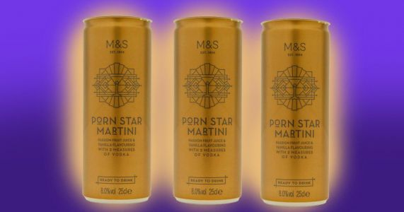 M&S launches Porn Star Martini in a can