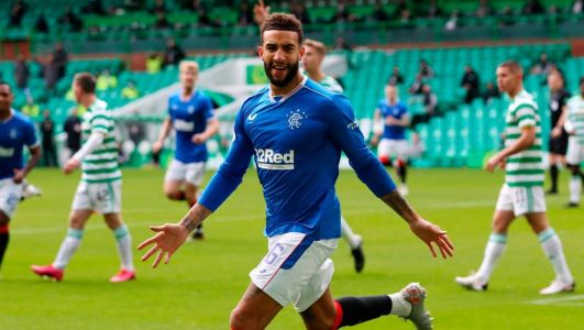 Connor Goldson double helps Rangers to victory over Celtic to go four clear at Scottish Premiership summit