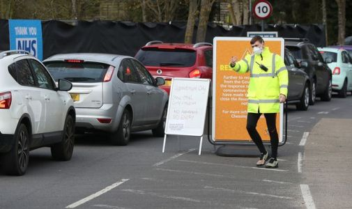 Coronavirus: NHS staff queue up for COVID-19 tests at IKEA and Chessington World of Adventures