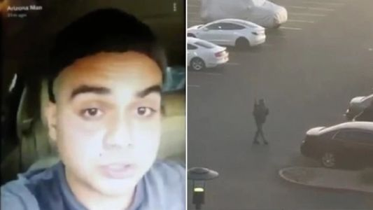 'Mass shooter drinks beer in chilling Snapchat video before opening fire on mall'