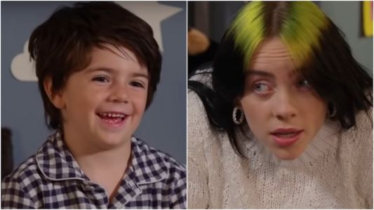 Billie Eilish asked kids where they think we go when we fall asleep, and their answers are the best thing you'll see today