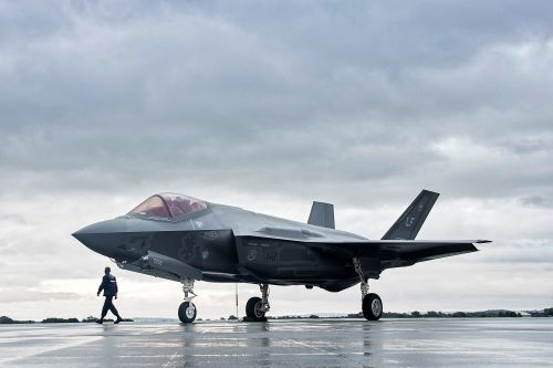 Inside the mile-long Texas facility where Lockheed Martin is building Britain's £100m fighter jet