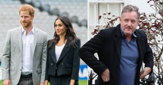 Piers Morgan accuses Harry and Meghan of 'shameless orgy of self-publicising and money-grabbing'