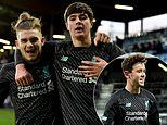 Liverpool fight back from two goals down against RB Salzburg to secure Uefa Youth League last 16 place