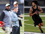 Only EIGHT of the 25 teams slated to watch Colin Kaepernick's workout showed up