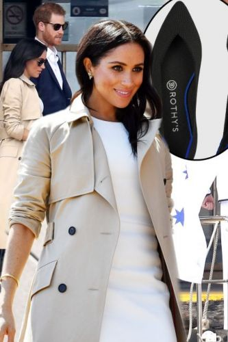 Meghan Markle Rothy's: The Duchess of Sussex's flat shoes are not all they seem as they're revealed to be made from 100 per cent recycled plastic water bottles