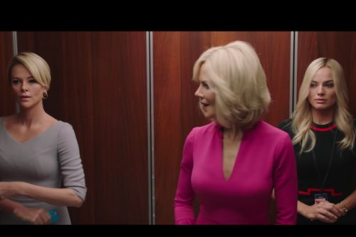 Charlize Theron, Margot Robbie and Nicole Kidman star in first trailer for Roger Ailes biopic Bombshell